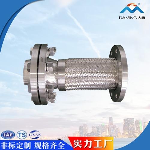 高颈法兰金属软管